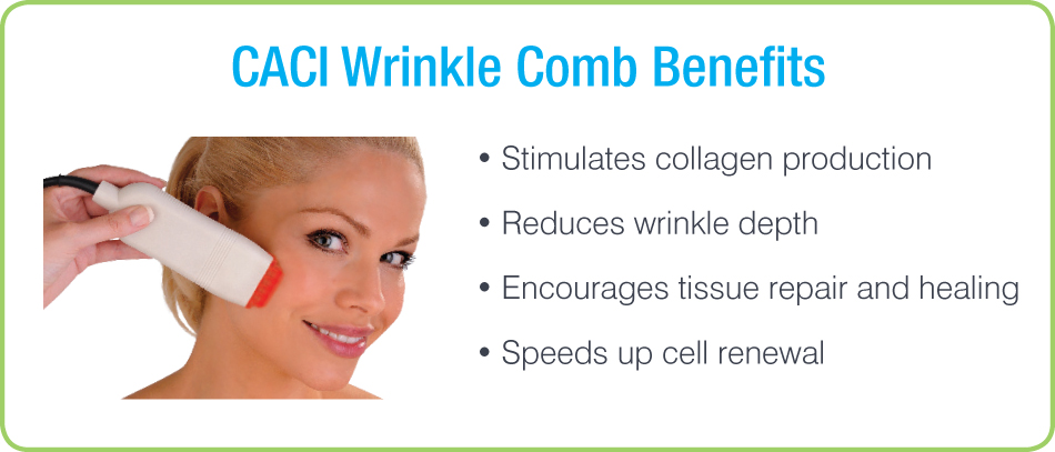 CACI Wrinkle Comb Benefits